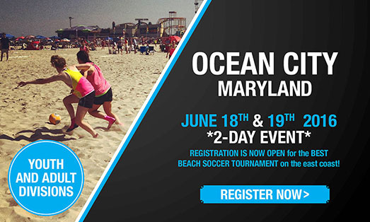ocean city beach soccer