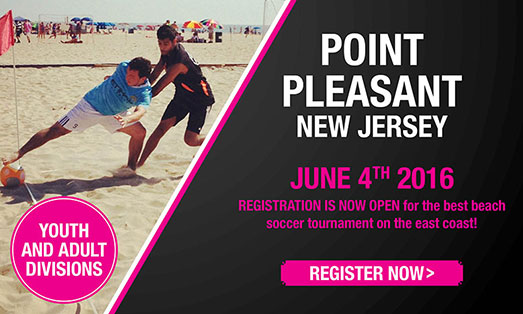 pleasant point beach soccer